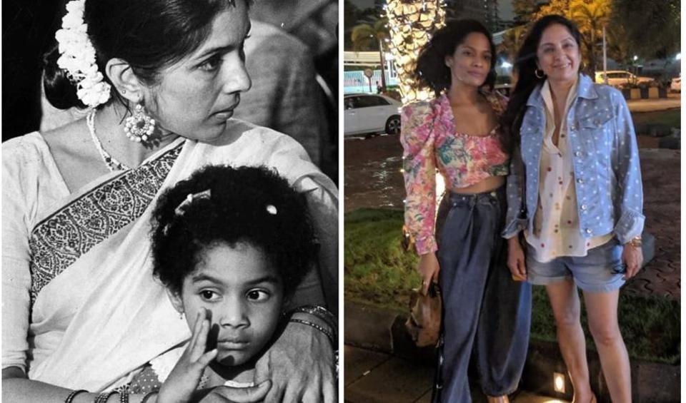 As Neena Gupta turned 61, Masaba Gupta wished her with sweet Instagram posts.