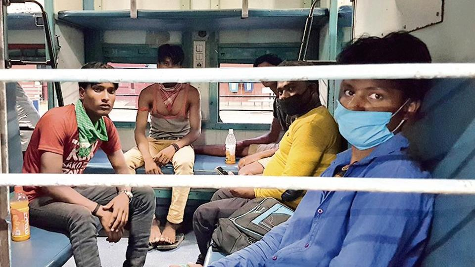 Sheikhu Alam, on board the Pushpak Express, along with six others on Wednesday.