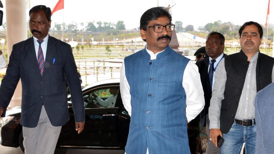 File photo:Jharkhand Chief minister Hemant Soren.