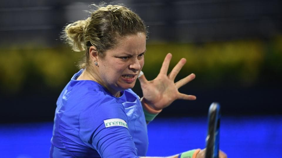 File image of Kim Clijsters.