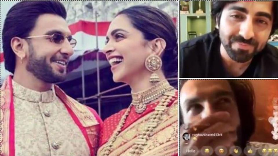 Deepika Padukone got angry at Ranveer Singh for chatting loudly with Ayushmann Khurrana: 'He left because bhabhi daant rahi hain'