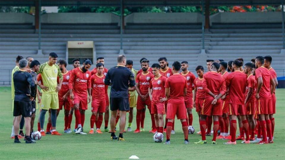 The Indian men's Football team