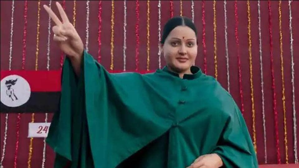 Kangana Ranaut plays late Tamil Nadu chief minister J Jayalalitha in Thalaivi.