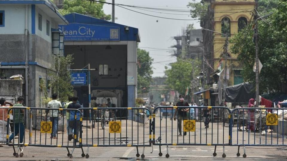 The parameters defining a containment zone have been changed in Kolkata.