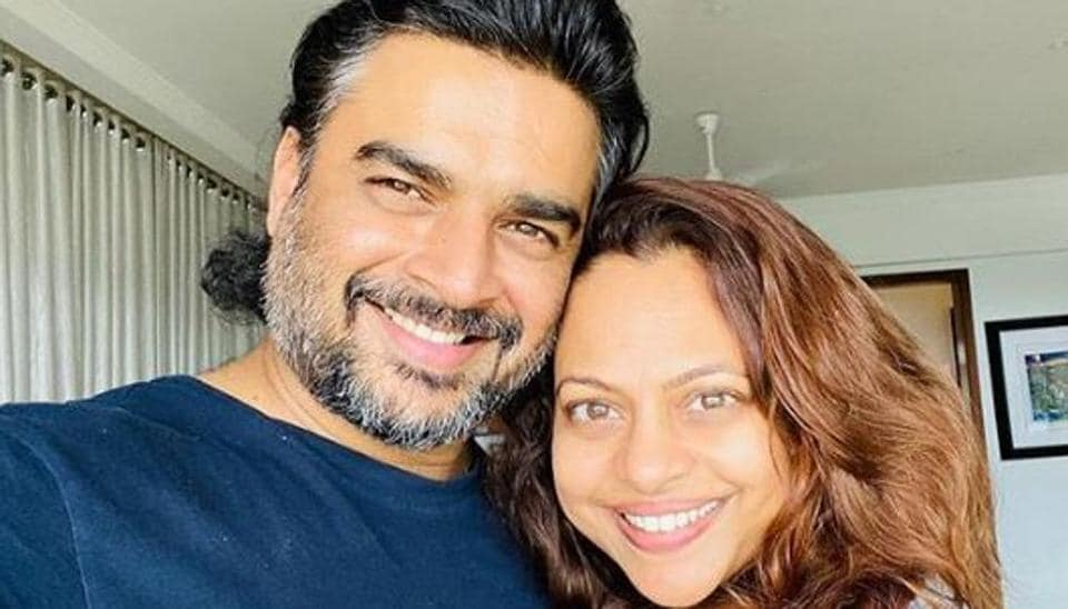 Madhavan and Sarita tied the knot in 1999.