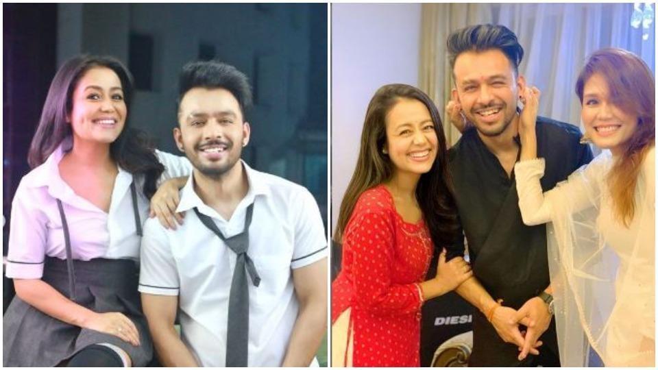 Neha Kakkar Would Send Money To Elder Siblings Sonu Tony Kakkar From Rishikesh While They Were Struggling In Mumbai Music Hindustan Times