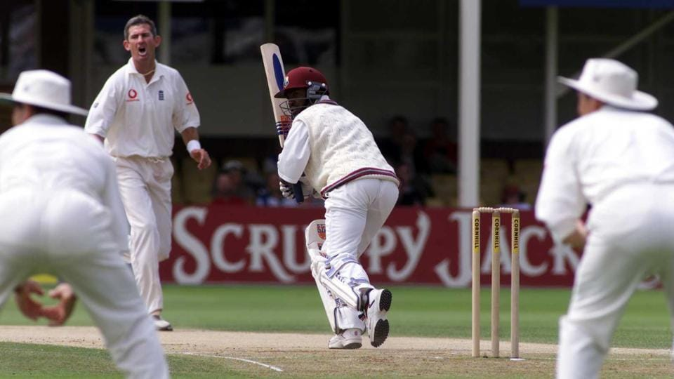 File photo of Brian Lara of the West Indies.