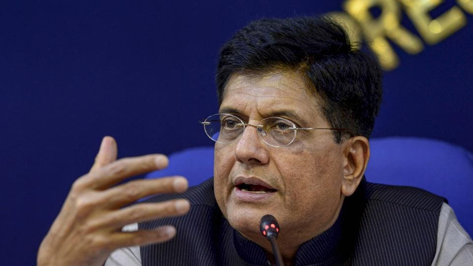 Union Minister for Railways Piyush Goyal shared the news of his mother's death on Twitter.
