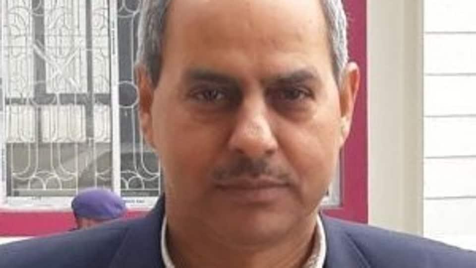 K S Dhatwalia hadon Wednesday shared stage with Union Ministers Narendra Singh Tomar and Prakash Javadekar