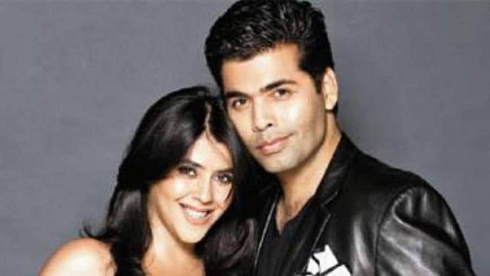 Karan Johar says he has a karmic cosmic connection with Ekta Kapoor.