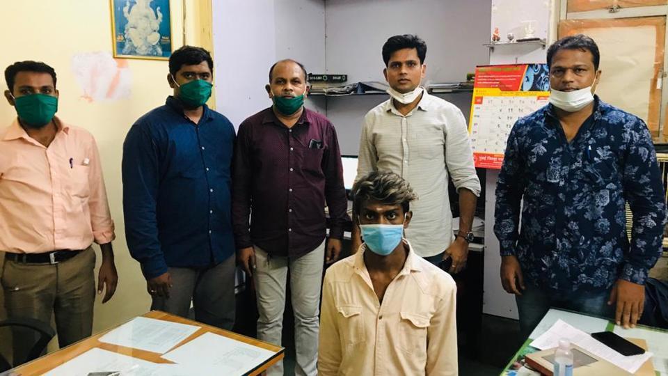 Arrested accused Prem Lognathan Devendra.