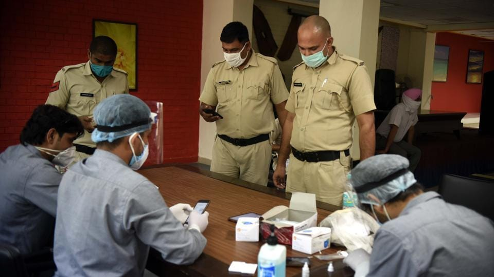 At present, 30 personnel — mostly deployed at borders and containment zones — have tested positive for Covid-19 in Gurugram.