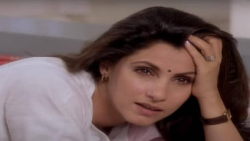 Dimple Kapadia in Drishti.