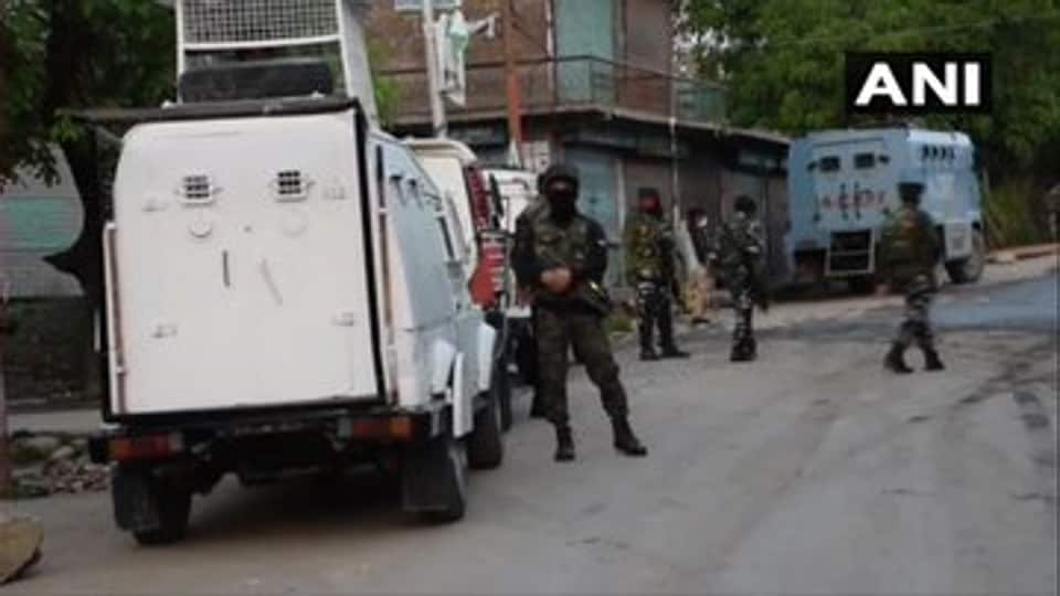 An encounter between security forces and militants broke out in J-K's Shopian district early morning on June 8, 2020.