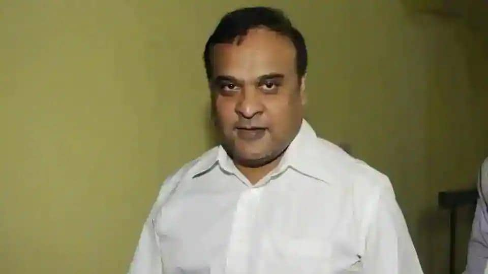 Assam education minister Himanta Biswa Sarma. (HT file)