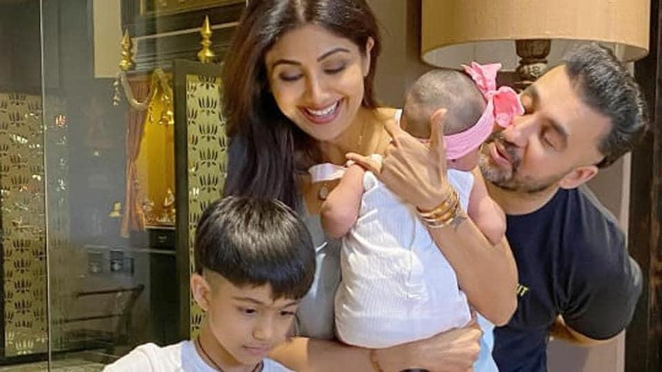 Shilpa Shetty had a truly happy birthday.