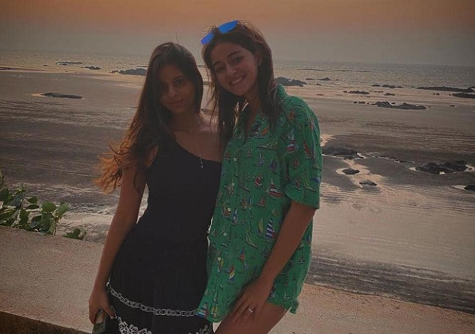 Ananya Panday and Suhana Khan have been friends from their childhood.