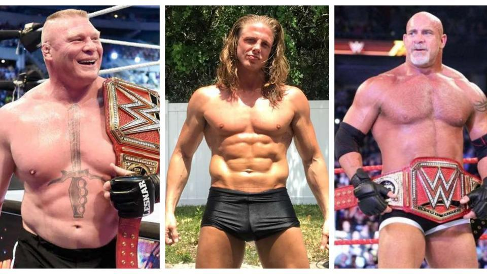 Matt Riddle has issues with Brock Lesnar and Goldberg.