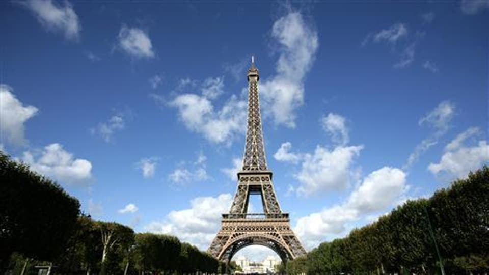 The monument, completed in 1889, receives about seven million visitors every year, about three-quarters of them from abroad, according to the tower website.