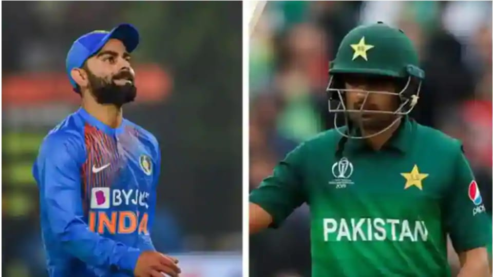 File image of Virat Kohli and Babar Azam.