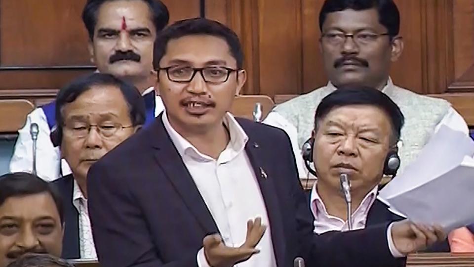 BJP MP Jamyang Tsering Namgyal lashed out at Rahul Gandhi on the India-China border row.