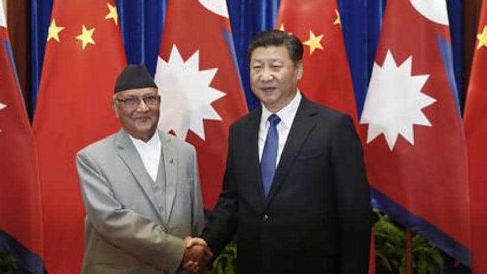Domestic politics apart, the map also helps KP Oli score points with Beijing, Nepal's other giant neighbour.