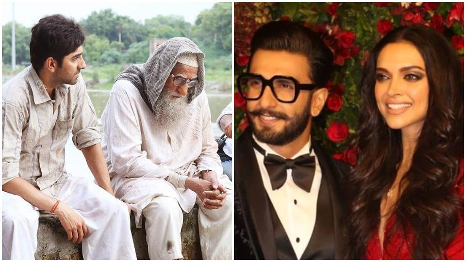 Deepika Padukone-Ranveer Singh's  wedding reception has a Gulabo Sitabo connection.