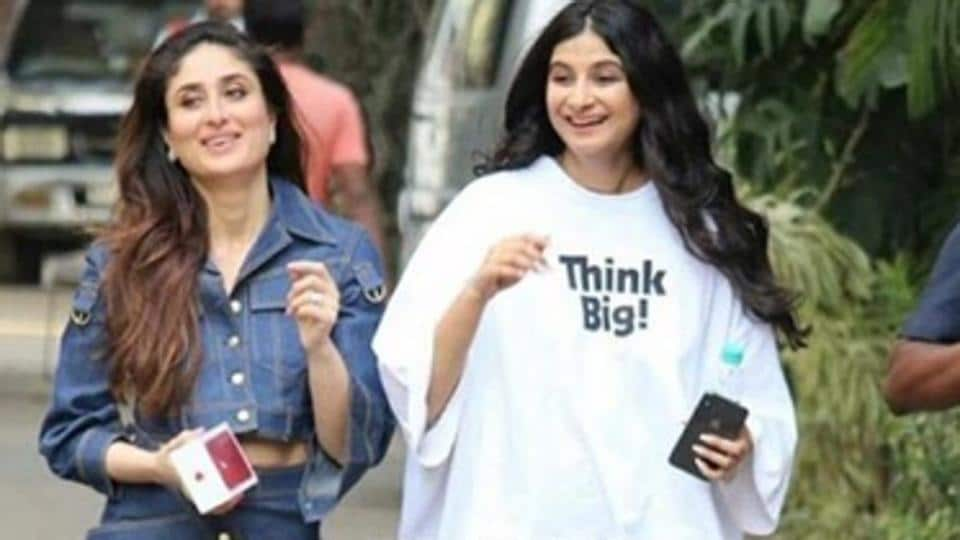 Kareena Kapoor and Rhea Kapoor posted this throwback from Veere Di Wedding promotions in 2018.