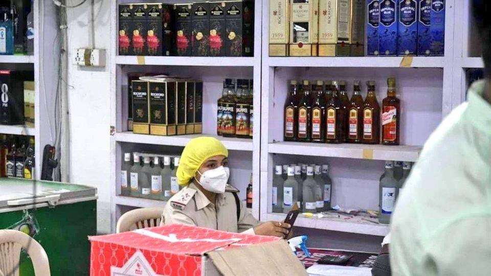 The Madhya Pradesh excise department said that women employees are mainly engaged in the role of supervision at liquor shops.