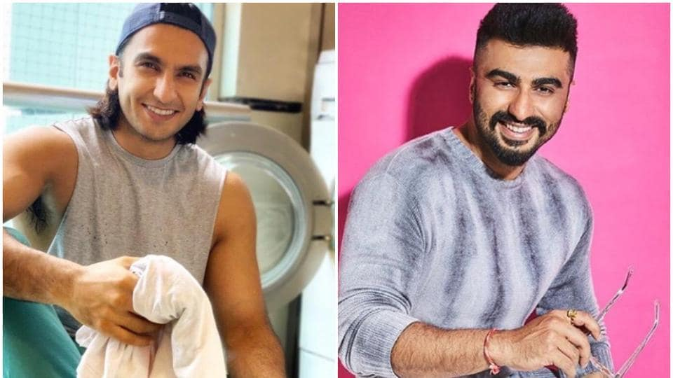 Arjun Kapoor and Ranveer Singh have worked together in Finding Fanny and Gunday.