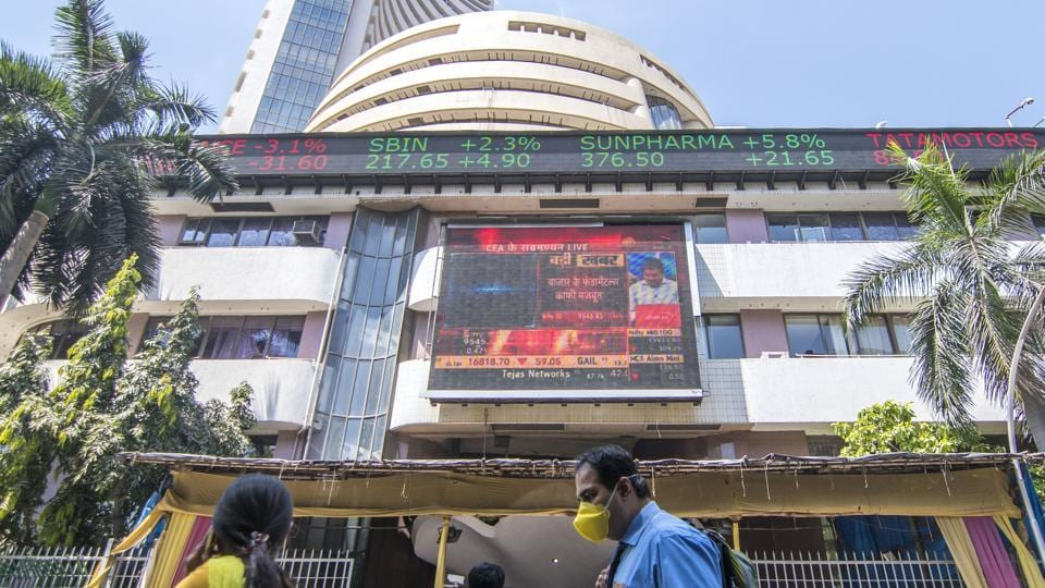 In Mumbai, NSE Nifty 50 index fell 1.7% to 9,733.60 by 0522 GMT, while the benchmark S&P BSE Sensex was down 1.8% at 32,952.99.