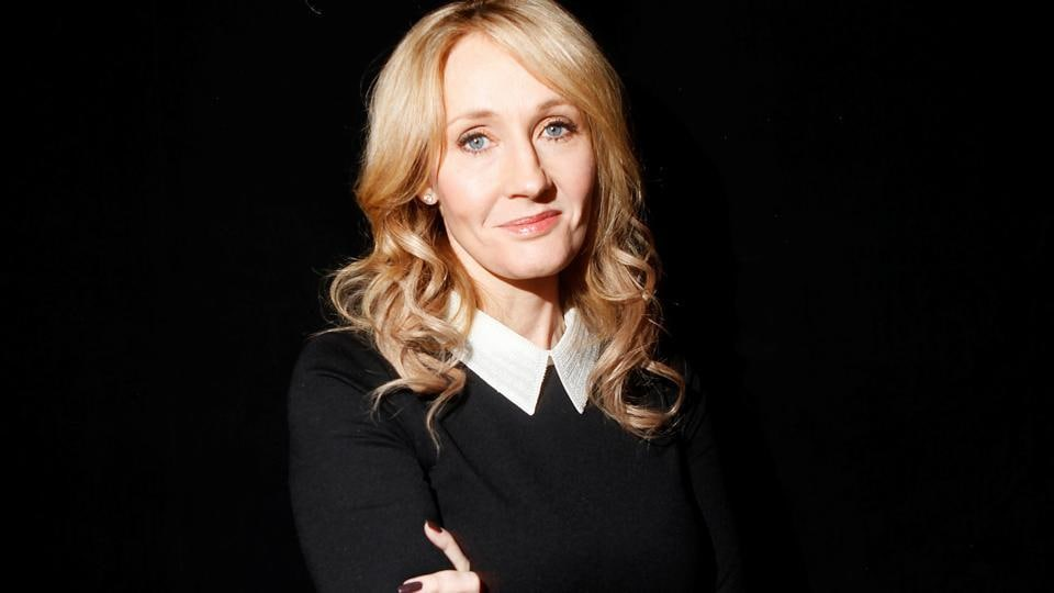 FILE PHOTO: Author J.K. Rowling poses for a portrait while publicizing her adult fiction book