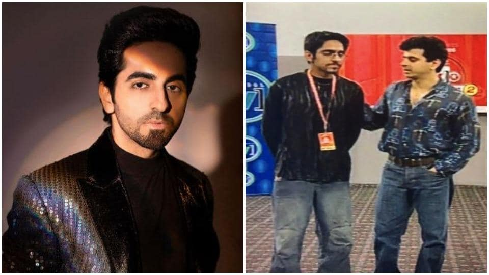 The 17 years old photo of Ayushmann Khurrana shared by Dr Palash Sen.