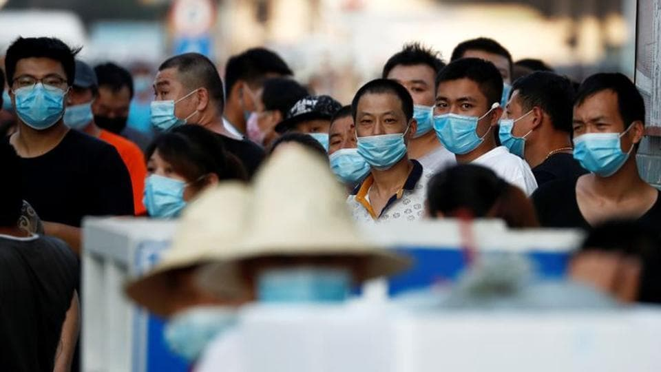 It was only last week that the WHO changed its advice on face masks, saying they should be worn in public where social distancing is not possible.