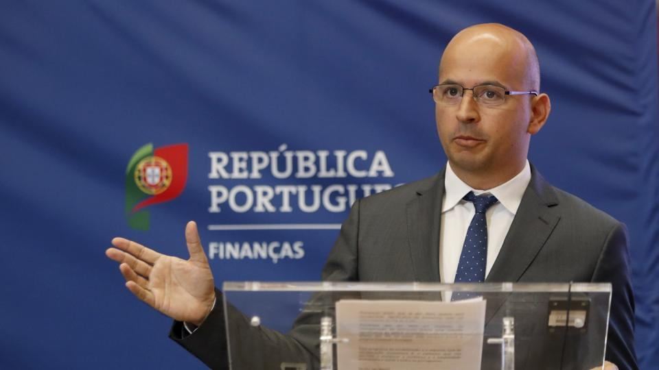 Portugal's President announced Tuesday that Finance Minister Mario Centeno is stepping down from the government and will be replaced by Leao.