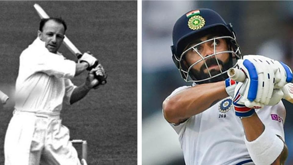 File image of Sir Don Bradman and Virat Kohli.