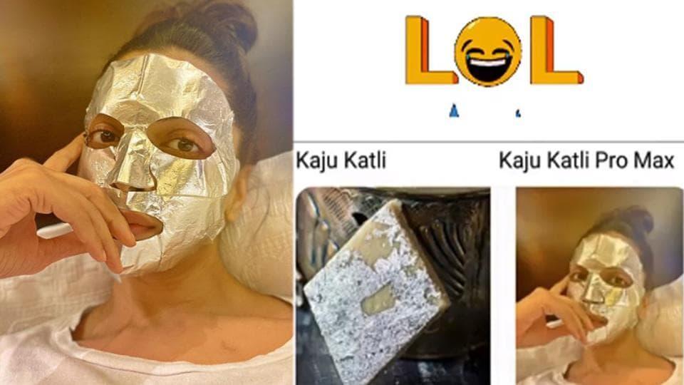 Deepika Padukone has shared a viral meme on Instagram.