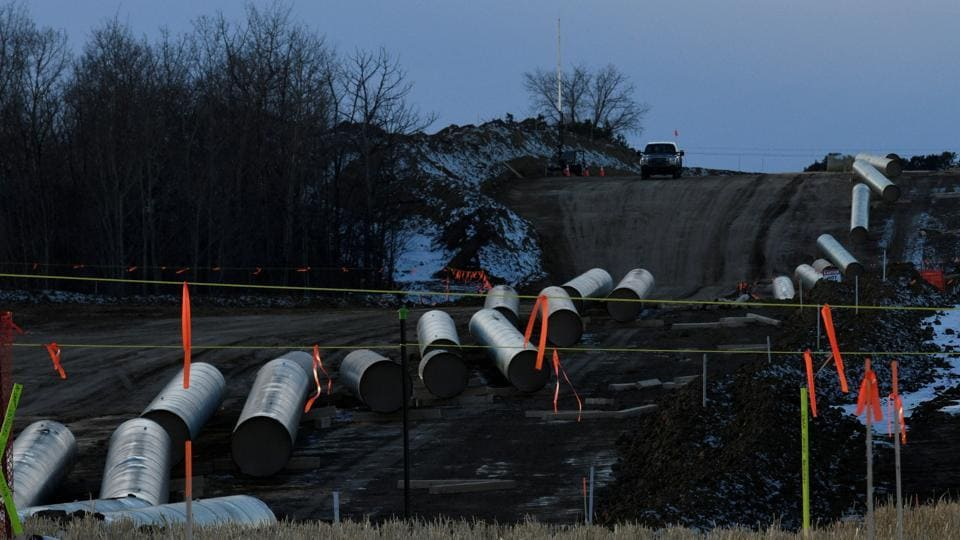 The estimated volume of oil spilled is not available, but the spill has been contained and cleanup is underway, the company said.