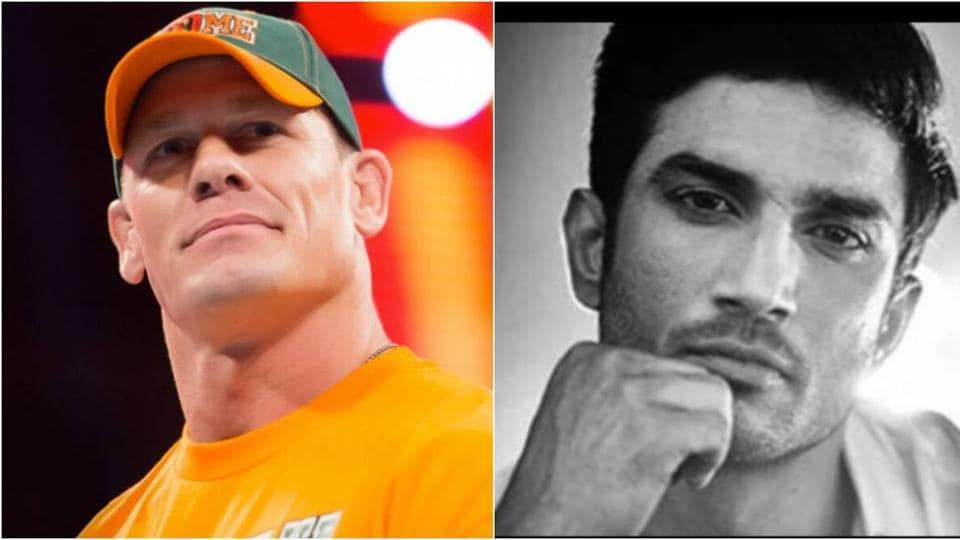 John Cena condoles Sushant Singh Rajput's death, shares his photo – bollywood