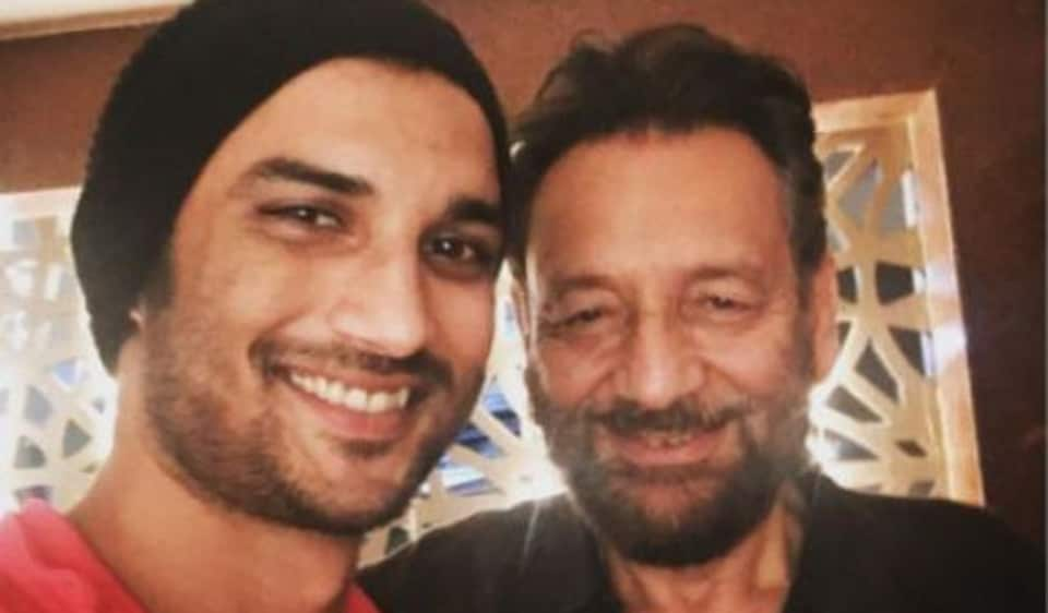 Shekhar Kapur was to work with Sushant Singh Rajput in Paani, which never got made.