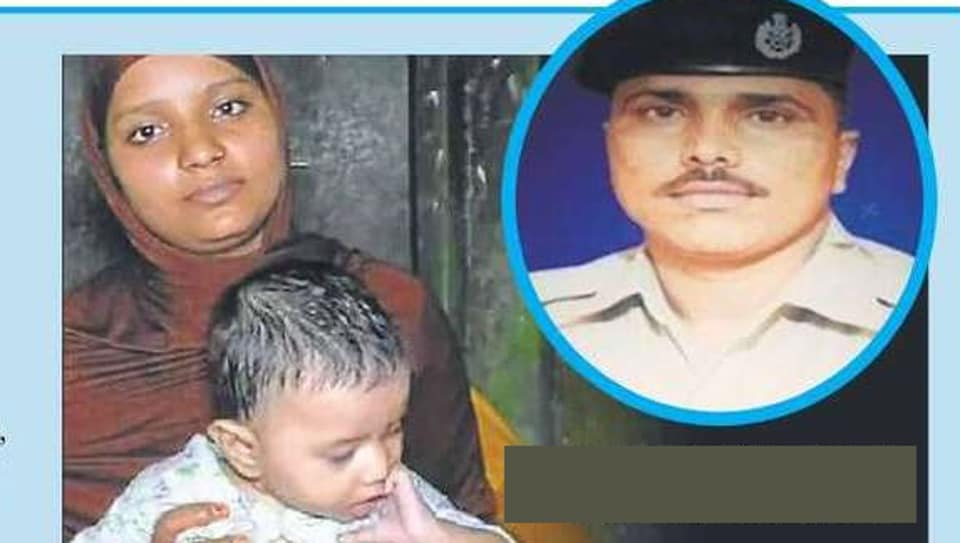 Inder Singh Yadav (inset) was asking passengers to not venture out of the train, when Sharif Hashmi, mother of a three-month-old, made a request for some milk.