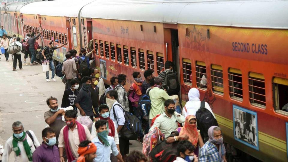 Since May 1, the Indian Railways has operated 4,450 Shramik Specials ferrying over 60 lakh migrants back home.