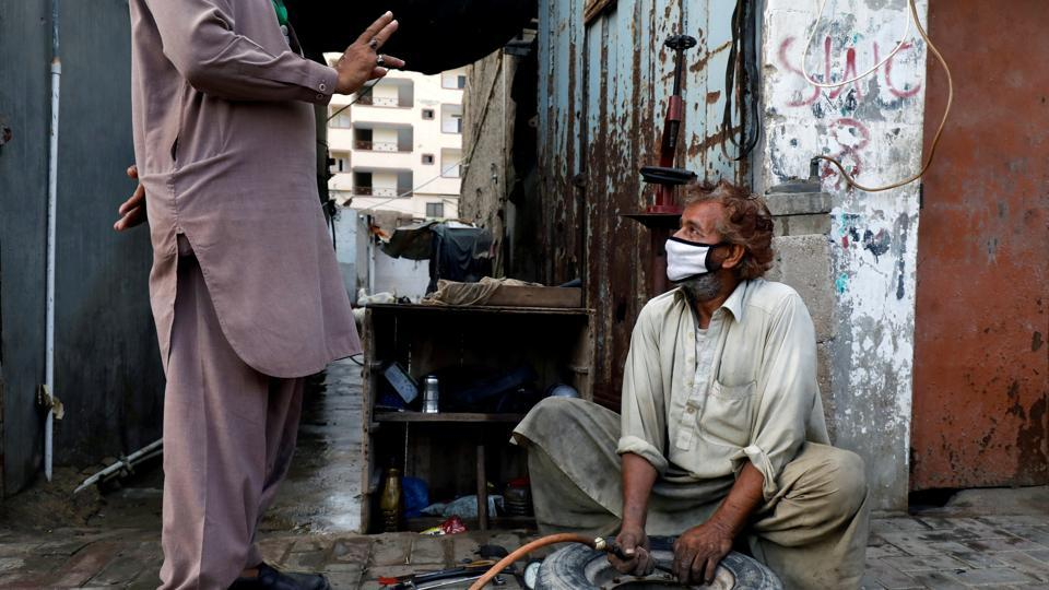 Pakistan Prime Minister Imran Khan had recently said that the country cannot sustain with complete Covid-19 lockdown for a long time as its 25 per cent population is living below the poverty line.