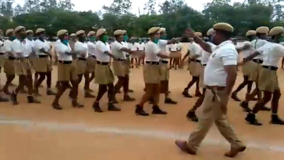 """""""Hats Off to this Drill Instructor,"""" says the tweet posted with the video."""