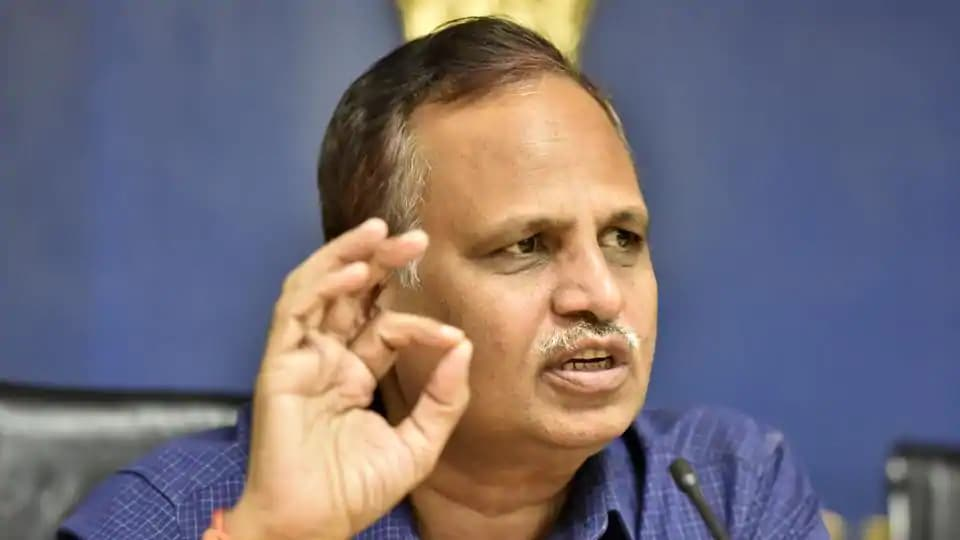 Delhi health minister Satyendar Jain tests negative for Covid-19