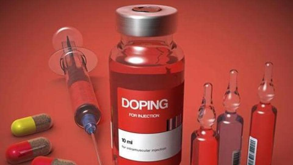 Doping, conceptual illustration.