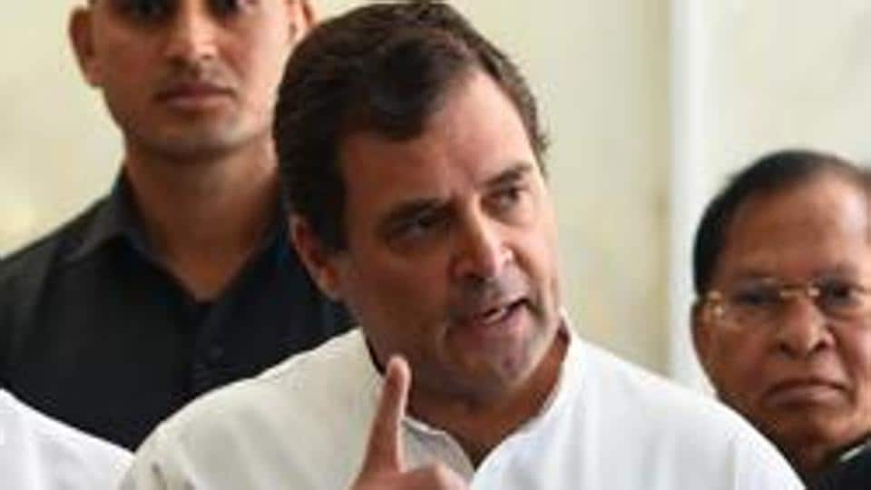 Congress leader and former party chief Rahul Gandhi.