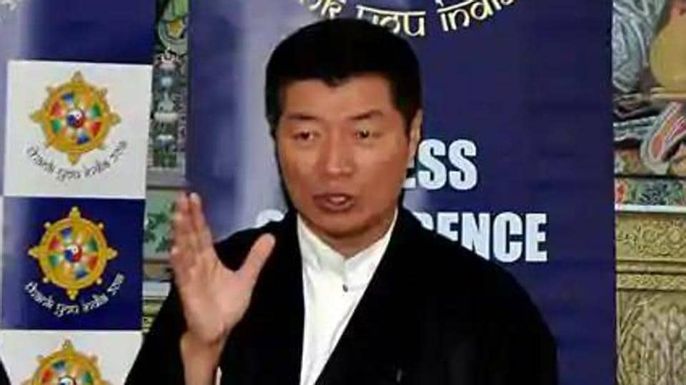 Central Tibetan Administration president Lobsang Sangay