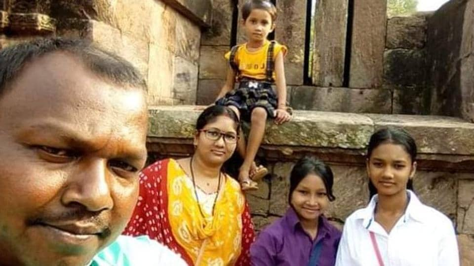 Nandu Ram Soren is survived by his wife and three daughters