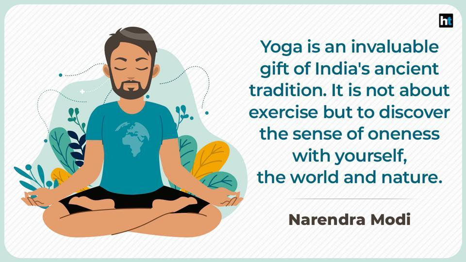 While you practice asanas at home, make sure you send some Yoga inspiration to your near and dear ones.